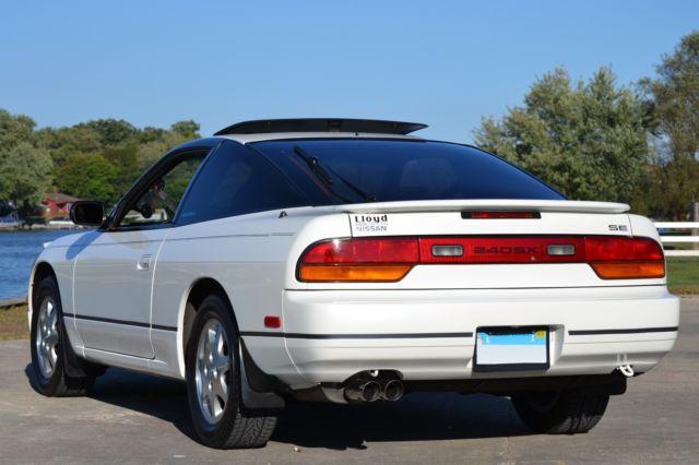 1993 nissan 240sx se hatchback 75k miles pearl white 100 stock florida car for sale nissan. Black Bedroom Furniture Sets. Home Design Ideas
