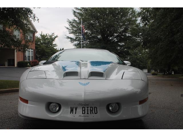1993 Pontiac Firebird Trans Am 800 Miles White Coupe 8