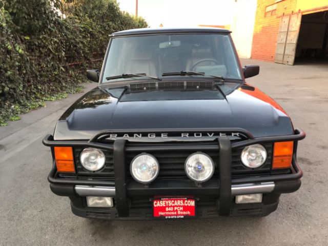 1993 Range Rover County Lwb Ca Car Stored For 5 Years No