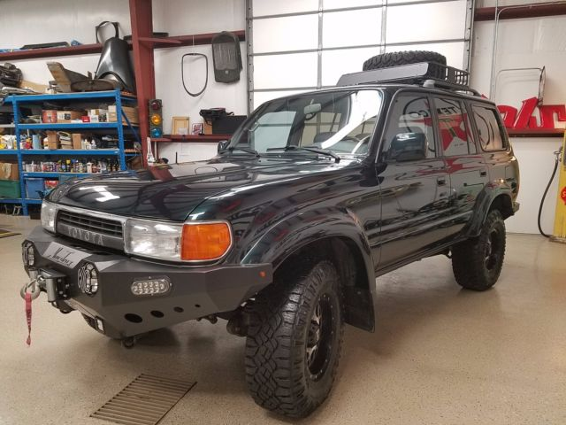 1993 toyota land cruiser fj80 fzj80 loaded lifted fj40 fj60 low miles bad a for sale. Black Bedroom Furniture Sets. Home Design Ideas