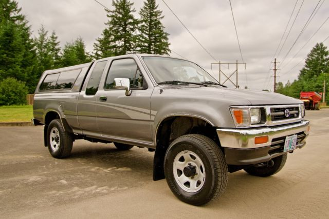 1993 toyota pickup 4x4 sr5 extra cab v 6 low miles power pack like new for sale toyota tacoma. Black Bedroom Furniture Sets. Home Design Ideas