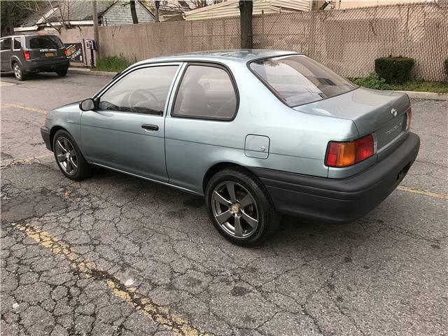 1993 Toyota Tercel Std 57110 Miles Teal 2 Door 4 Cylinder Engine 1 5l  89 4
