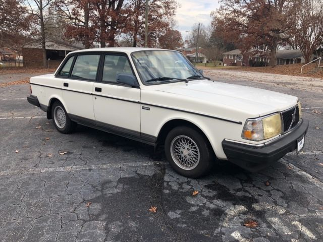 1993 Volvo 240 No Reserve Rare Manual 5 Speed For Sale Volvo