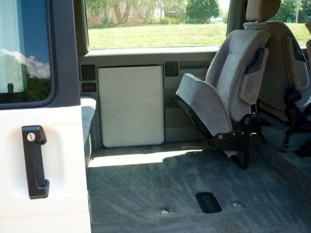 vw diesel eurovan  weekender interior  sale volkswagen eurovan   sale
