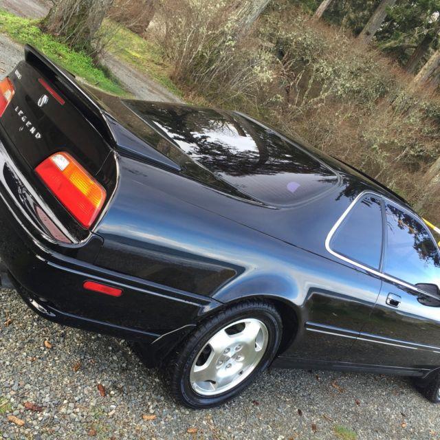 1994 Acura Legend 6 Speed Black Black Leather Ls Coupe 2 Door 3 2l