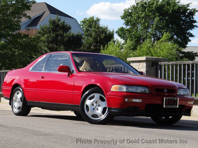 1994 acura legend coupe red tan lthr 6 speed manual only 69k 1 owner no rust wow for sale. Black Bedroom Furniture Sets. Home Design Ideas