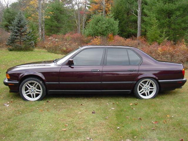 1994 bmw 740i e32 v8 113k low mileage beautiful car for. Black Bedroom Furniture Sets. Home Design Ideas
