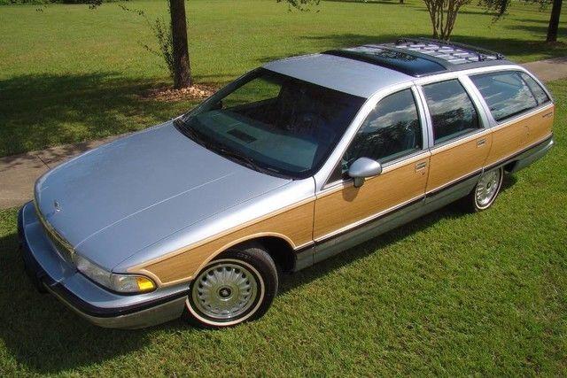 1994 buick roadmaster estate wagon only 47k miles like new 1 owner florida for sale buick. Black Bedroom Furniture Sets. Home Design Ideas