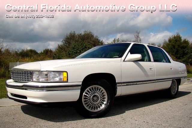 1994 cadillac deville 2 owner florida 80k low miles no reserve for sale cadillac deville. Black Bedroom Furniture Sets. Home Design Ideas