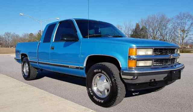 1999 Chevrolet Silverado 1500 Extended Cab 4x4 5 Speed Manual Guide