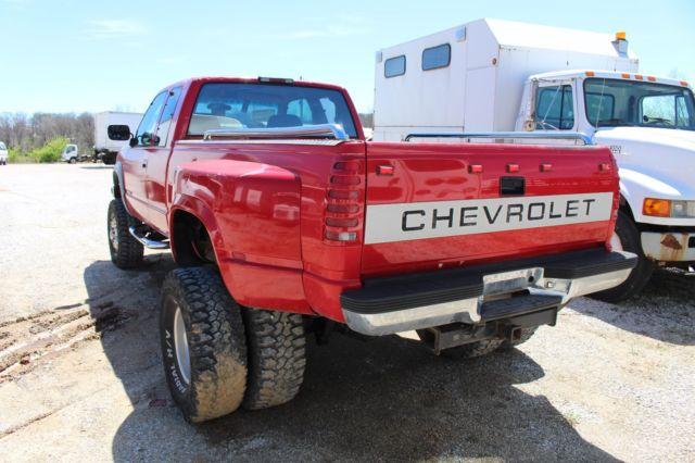 1994 chevy 3500 4x4 1 ton dually pickup truck 5 9l cummins diesel auto dodge ram for sale. Black Bedroom Furniture Sets. Home Design Ideas