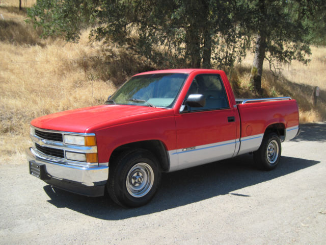 1994 CHEVY C1500 PICKUP CHEYENNE SOLID CALIFORNIA TRUCK AT ...