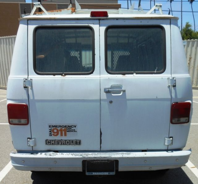 1994 CHEVY G10 Cargo Van W/Roof Rack