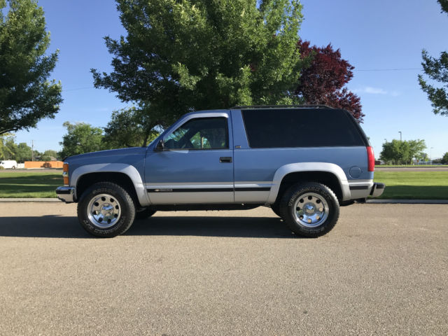 1994 Chevy K1500 Blazer 2 Door 5 7l 350 V 8 With Only 79
