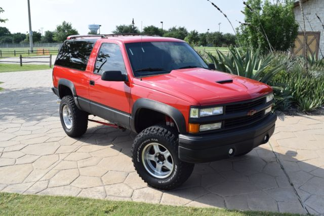 1994 chevy trail blazer custom for sale chevrolet blazer 1994 for sale in coppell texas. Black Bedroom Furniture Sets. Home Design Ideas