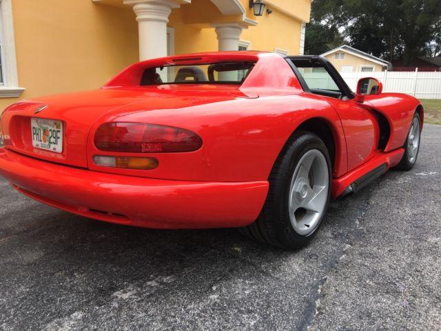 1994 Dodge Viper Convertible 2 Door 8 0l For Sale Dodge