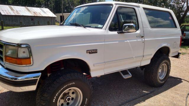 1994 Ford Bronco Xlt Sport Utility 2 Door 5 0l For Sale