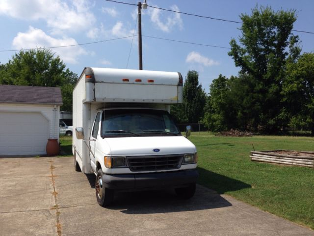1994 Ford E350 Cargo Truck/ Moving Installer's 14' Box +