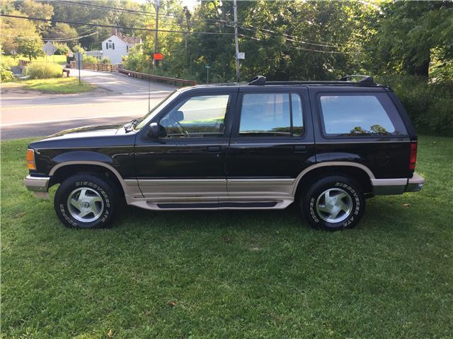1994 ford explorer eddie bauer 91 699 miles black suv v6 cylinder engine automat for sale ford. Black Bedroom Furniture Sets. Home Design Ideas
