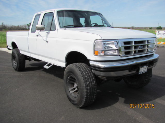 1994 ford f 250 idit 7 3l turbo diesel 4x4 california truck supercab bad a for sale ford. Black Bedroom Furniture Sets. Home Design Ideas