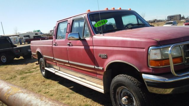 Trucks For Sale Under 1000 >> 1994 FORD F-350 4X4 CREWCAB--WORK TRUCK--HEAVY DUTY for sale - Ford F-350 4 DOOR CREW CAB LONG ...