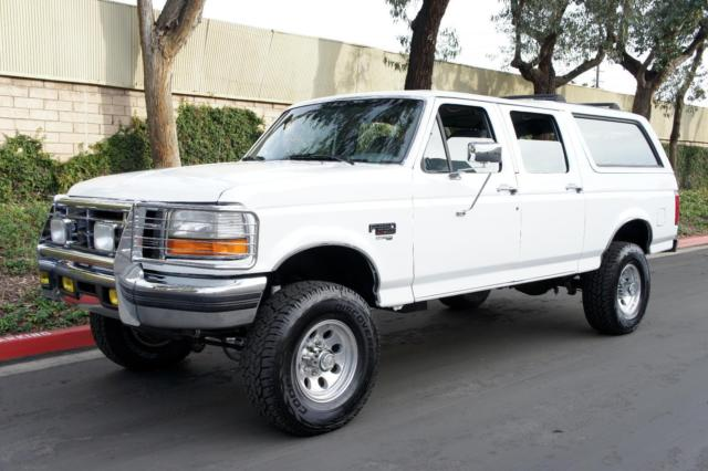 1994 ford f 350 suv bronco 7 3l idi turbo diesel 4x4 leather packg 3rd row for sale ford. Black Bedroom Furniture Sets. Home Design Ideas