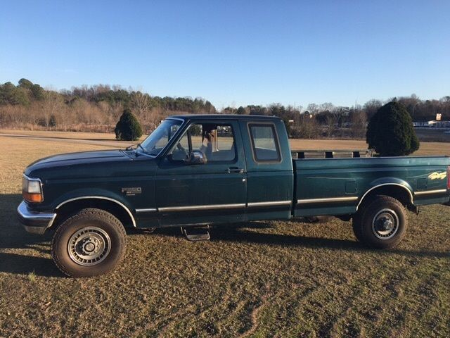1994 ford f250 turbo diesel ext cab xlt 4x4 pickup truck auto trans 7 3 l turbo for sale ford. Black Bedroom Furniture Sets. Home Design Ideas