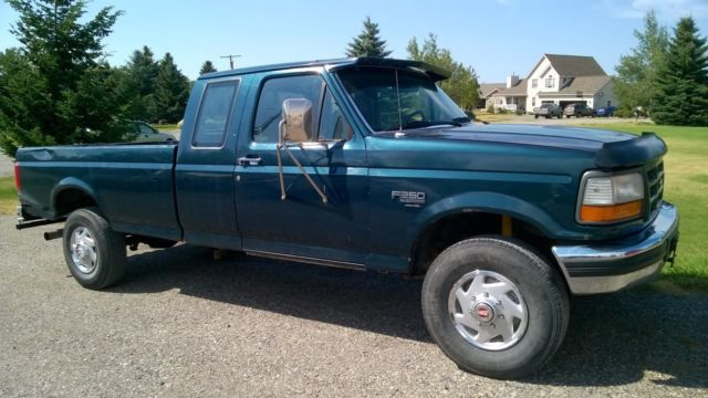 1994 ford f250 xl extended cab heavy duty 4x4 7 3 liter diesel 5 speed low miles for sale ford. Black Bedroom Furniture Sets. Home Design Ideas