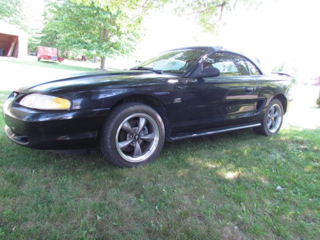 1994 ford mustang gt convertible rebuilt 5 0 monster level 3 transmission for sale ford. Black Bedroom Furniture Sets. Home Design Ideas