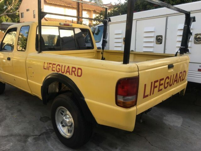 1994 ford ranger 4x4 ex california lifeguard rescue truck stick shift for sale ford ranger. Black Bedroom Furniture Sets. Home Design Ideas