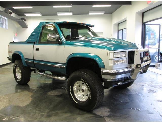 1994 gmc sierra 1500 sle pick up 5 speed 350 v8 low miles show truck 1 of a kind for sale gmc. Black Bedroom Furniture Sets. Home Design Ideas
