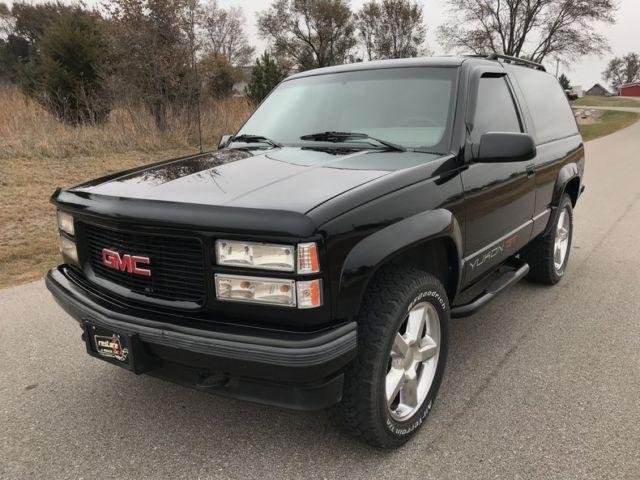 1994 Gmc Yukon Gt 0 Black Suv 5 7 Liter V8 4 Speed
