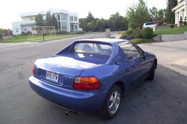 1994 Honda Del Sol 1 6l Dohc Vtec No Reserve 63 331