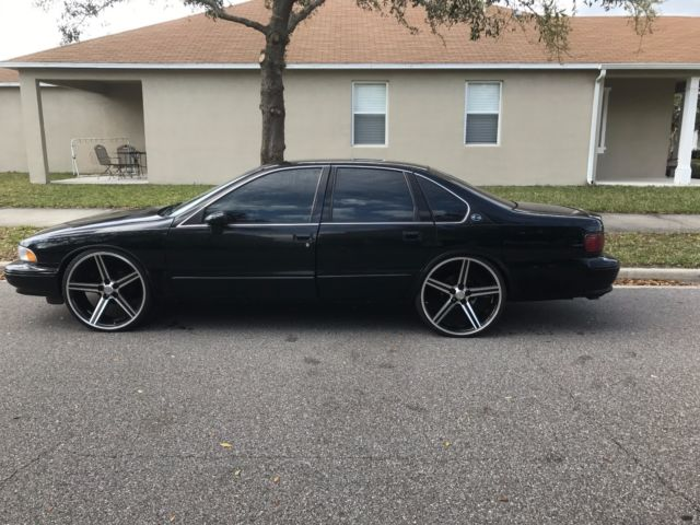 1994 Impala Ss W 24inch Iroc Z Wheels For Sale Chevrolet