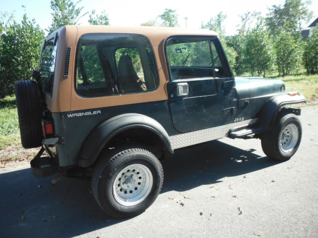 1994 jeep wrangler 4x4 4 liter 6 cylinder 5 speed hard top cold air conditioning for sale jeep. Black Bedroom Furniture Sets. Home Design Ideas