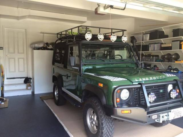 1994 land rover defender 90 for sale land rover defender. Black Bedroom Furniture Sets. Home Design Ideas