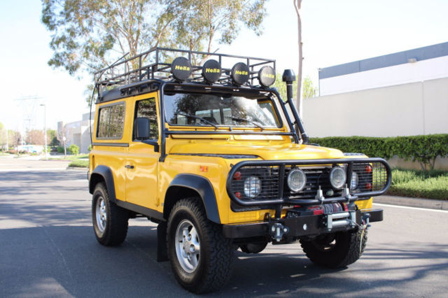 1994 Land Rover Defender 90 D90 D 90 In Yellow For Sale