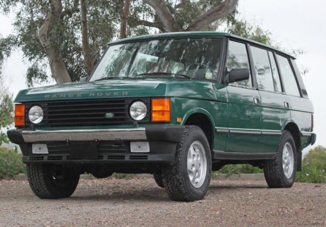 1994 land rover range rover county lwb rare 75 000 original miles for sale land rover range. Black Bedroom Furniture Sets. Home Design Ideas