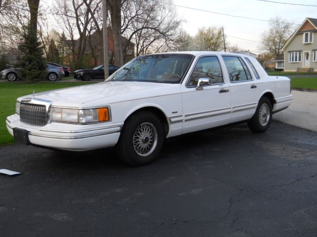 Lincoln Town Car Executive L For Sale Used 2010 Lincoln Town Car L