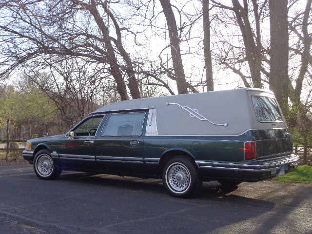 Lincoln Town Car Hearse