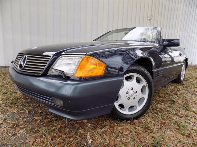1994 mercedes benz sl 320 77k hardtop convertible auto for Mercedes benz sl550 convertible for sale