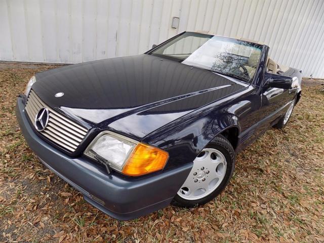 1994 mercedes benz sl 320 77k hardtop convertible auto for Mercedes benz hardtop convertible for sale