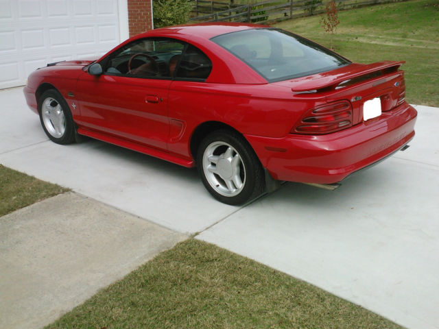 1994 mustang gt great condition w original paint and interior for sale ford mustang gt 1994. Black Bedroom Furniture Sets. Home Design Ideas
