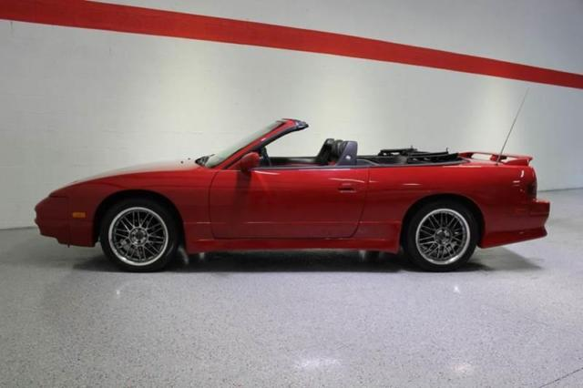 1994 nissan 240sx convertible automatic 2 4l engine red for Nissan 240sx motor for sale