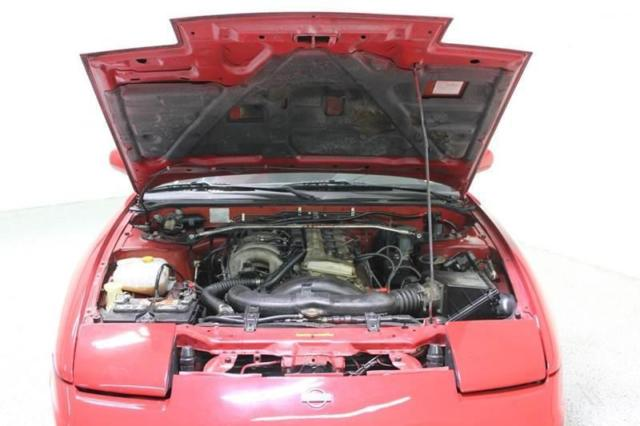 1994 nissan 240sx convertible automatic 2 4l engine red. Black Bedroom Furniture Sets. Home Design Ideas