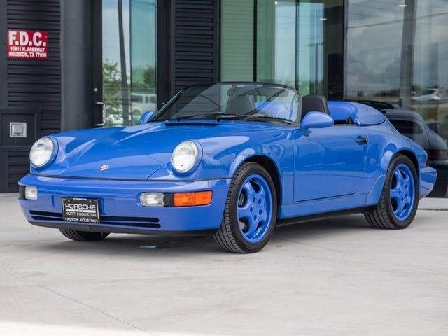1994 porsche 911 speedster speedster 25583 miles maritime blue 5 speed manual for sale porsche. Black Bedroom Furniture Sets. Home Design Ideas