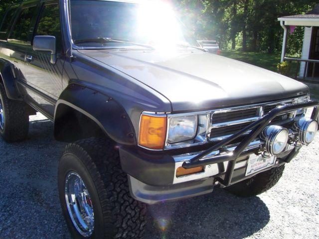 1st Gen 1988 Toyota 4runner Sr5 4x4 For Sale Toyota