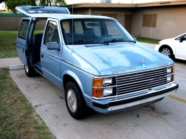 Dodge Caravan For Sale >> 1st GENERATION DODGE CARAVAN PLYMOUTH VOYAGER MINIVAN /MAGIC WAGON for sale - Dodge Caravan ...