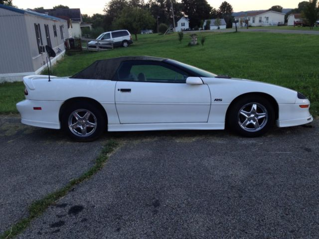 2 Camaros One 20th Anniversary Amp One 25th Anniversary For Sale Chevrolet Camaro 20th Amp 25th