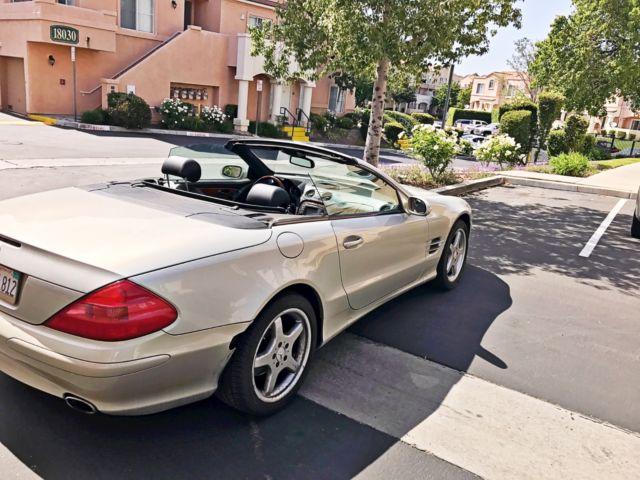 2003 mercedes sl 500 designo edition convertible for sale for Mercedes benz sl 500 2003